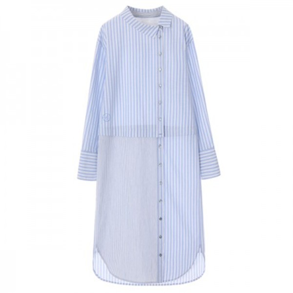 온앤온에디션[온앤온에디션] UNUIQE LAYERD SHIRT DRESS_BLUE+STRIPE NE8SO0750