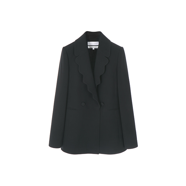 올리브데올리브[올리브데올리브] Plaisir D'amour SCALLOP COLLAR JACKET OW9SJ2000