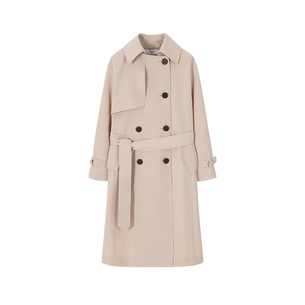 올리브데올리브[올리브데올리브] Plaisir D'amour LETTERING TRENCH COAT OW9SR2080
