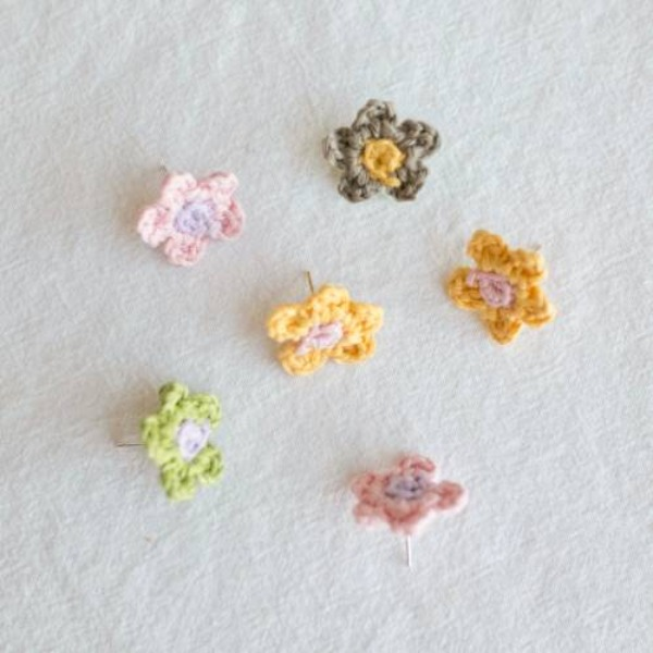 MERRYMOTIVE#[MERRYMOTIVE] Pastel mini flower earring (20ss08)_MX0XA058